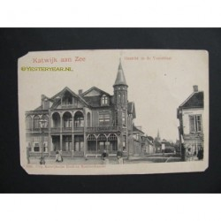 Katwijk aan Zee ca. 1905 - gezicht in de Voorstraat