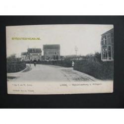Lisse ca. 1900 - Rijksstraatweg naar Hillegom