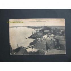 Lekkerkerk 1919 - Lekpanorama in westelijke richting