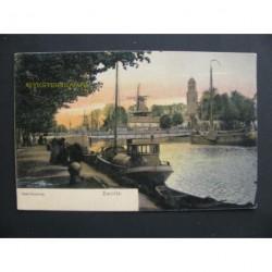 Zwolle ca. 1910 - Keersluisbrug