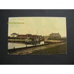 Workum 1917 - Zeesluis