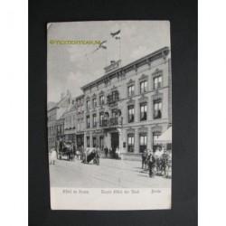 Breda ca. 1910 - Hotel de Kroon - 1ste hotel der stad