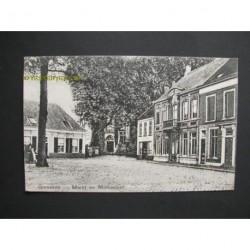 Ginneken 1909 - Markt en Monument