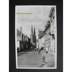 Eindhoven 1947 - Stratumseind met Catharinakerk