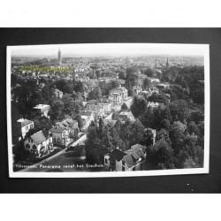 Hilversum ca. 1945 - panorama vanaf het stadhuis
