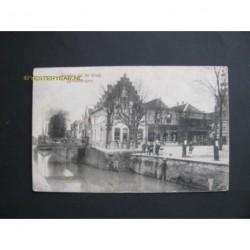 Zevenbergen 1918 - Gezicht op de brug