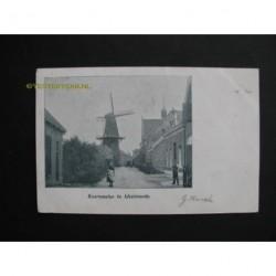 IJsselmonde ca. 1900 - Koornmolen te IJsselmonde
