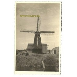 Zaandam ca. 1940 - Paltrok zaagmolen - fotokaart