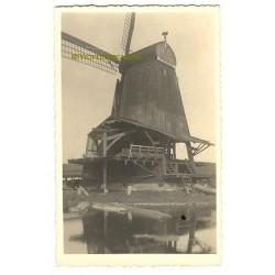 Zaandam ca. 1940 - zaagmolen - fotokaart