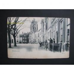 Goedereede ca. 1910 - Markt