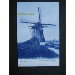 Voorburg ca. 1910 - Watermolen nabij de Broeksloot