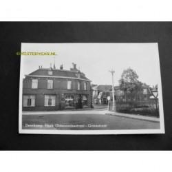 Denekamp 1949 - hoek Oldenzaalsestraat-Grotestraat