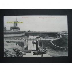 Gorinchem 1911 - Riviergezicht buiten Dalempoort