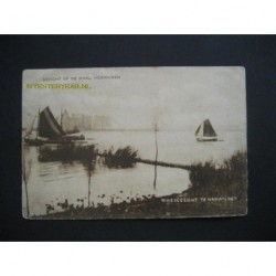 Herwijnen 1925 - gezicht op de Waal