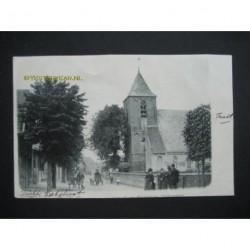 Tricht ca. 1900 - Kerkstraat -hondenkar