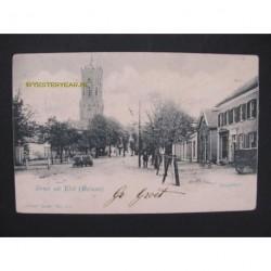 Elst 1902 - Dorpsstraat - groet uit