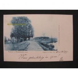 Tiel 1899 - Waalkade en Westluidensche straat - voorloper