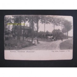 Echteld ca. 1905 - Voorstraat - Ruimzicht