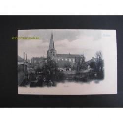 Ochten ca. 1905 - Kerk- gezicht op de