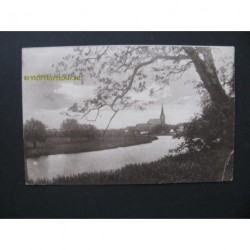 Beesd 1928 - groet uit - panorama dorp