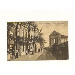 Wijk bij Duurstede ca. 1920 - Hotel Schipperhuis en molen