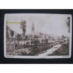 Maurik 1943 - dorpsgezicht