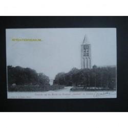 Zoelen 1903 - gezicht op de kerk en kasteel Soelen