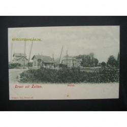 Zetten ca. 1905 - station