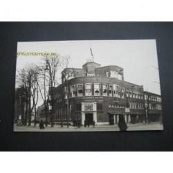 Utrecht ca. 1945 - verzekeringskantoor-gebouw - fotokaart