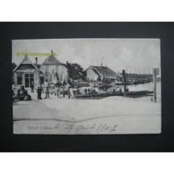 Tholen ca. 1910 - pontveer te Tholen
