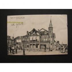 Katwijk aan Zee 1913 - groet uit Katwijk - Hotel