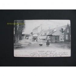 Koudekerke 1915 - Dorpsplein - bij de kerk