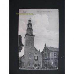 Hulst 1916 - Stadhuis en Openbare School