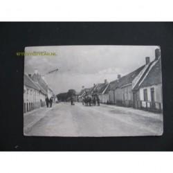 Westkapelle 1915 - Zuidstraat met stadhuis