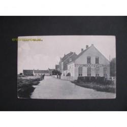 Breskens 1914 - Haven-Stoombootsveerhuis en tramstation