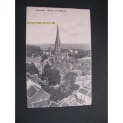 Sittard ca. 1910 - groet uit - Basiliek-panorama
