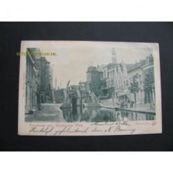 Maassluis 1901 - Veerstraat met Monstersche Sluis