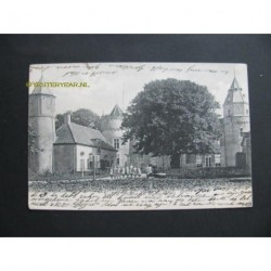Domburg 1907 - kasteel Westhoven