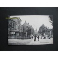 Domburg 1908 - ingang dorp