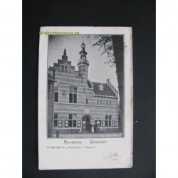 Ouddorp ca. 1905 - Raadhuis