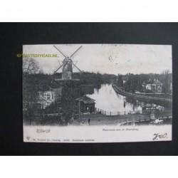 Rijswijk 1905 - molen - panorama aan de Hoornbrug