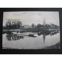 Well 1906 - groet uit Well-gierpontje