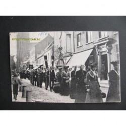Veghel 1906 - processie naar Kevelaer