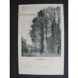 Scherpenzeel 1902 - Kerkplein - kerktoren
