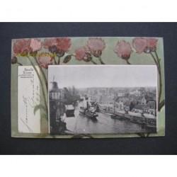 Zwolle 1900 - Kamperpoortenbrug en Bestenmarkt