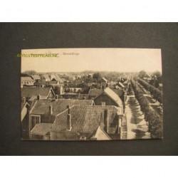 Wemeldinge ca. 1920 - panorama Dorpstraat