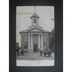 Westzaan ca. 1900 - het Raadhuis