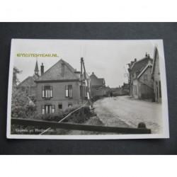 Hardinxveld - 1953 - groeten uit - dijkwoningen