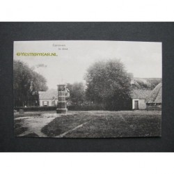 Garderen 1914 - De Brink met pomp