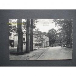 Lochem 1916 - Hotel de Dolle Hoed met tramhalte